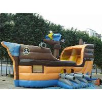 Wholesale Grey Inflatable Ship Bouncer And Inflatable Funland For Chilren Party Games from china suppliers