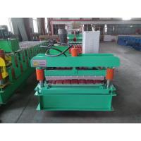 Buy cheap PLC Control Roof Panel Roll Forming Machine 0.3-0.8mm Profile Thickness from wholesalers