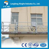 Wholesale Prompt delivery aluminum temporary gondola working platform ZLP800 for window cleaning and maintenance from china suppliers