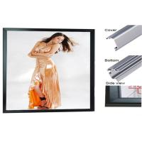Wholesale 5 MM Thin Silk-Screen Magnetic Led Light Box , Double Side Clear Frame from china suppliers