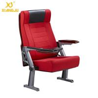 Wholesale Public Interior PU / Wooden Armrest Auditorium Chairs With Folded ABS Writing Table from china suppliers
