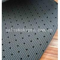 Wholesale Colorful Perforated Rubber Breathable Rubber Sheet Soft Neoprene Mesh Neoprene Fabrics from china suppliers