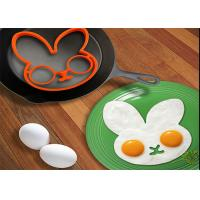 Wholesale Cute Rabbit Shaped Safety Silicone Egg Ring Mold For Breakfast from china suppliers