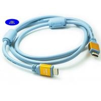 Wholesale 1.5 M 4K TV HDMI High Speed Cable 1532KHZ Blue With Double Real Ring from china suppliers