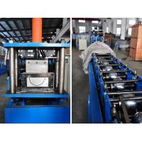 Wholesale 0.4-0.8mm Thickness Half Round Gutter Roll Forming Machine High Speed 10-15m/min from china suppliers