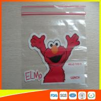 Quality Personalized Custom Resealable Plastic Bags Fashionable With Zip Seal for sale