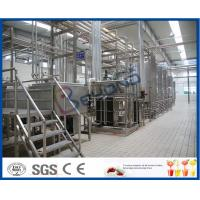 Wholesale Turn Key Projects 20000LPD Pasteurized Milk Production Line for 200 - 1000ml Bag Pouch from china suppliers