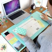 Wholesale Home Personalized Desk Mat Office Table Pad Blue / Orange / Green from china suppliers