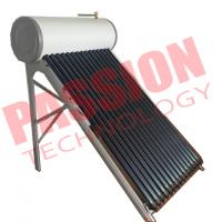 Anti Freezing Heat Pipe Solar Water Heater With Intelligent Controller