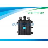 Wholesale 1×4 2×4 PLC Aerial Splice Fiber Optic Enclosures 3 Port Horizontally Mechanical Seals from china suppliers