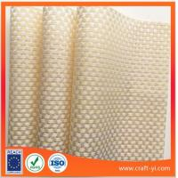 Wholesale milk white PVC Table Mat Textilene Square table mats from china suppliers