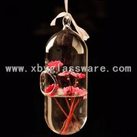 Wholesale Crystal glass hanging vase from china suppliers