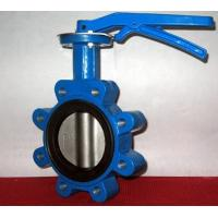 Wholesale Ductile Iron Centerline Butterfly Valves Lug Style Pneumatic Operated ANSI 150 from china suppliers
