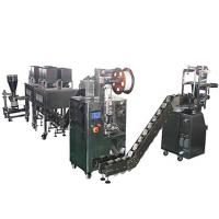 Wholesale Pyramid Tea Packaging Machine With Eight Electronic Scales , Automated Packaging Equipment from china suppliers