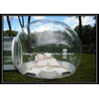 Wholesale Outdoor Camping Inflatable Tent Bubble Waterproof 0.6mm PVC Tarpaulin from china suppliers