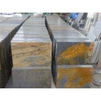 Wholesale Natural Split Surface Chinese Rusty Slate Walkway Multicolor Slate Floor Tiles Slate Paving Stone from china suppliers