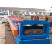 Wholesale Roof And Floor Deck Roll Forming Machine 380v With Steel Bearing Board from china suppliers
