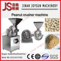 Wholesale Foodstuff Peanut Crusher Machine Stainless Steel For Crisp Herbs from china suppliers
