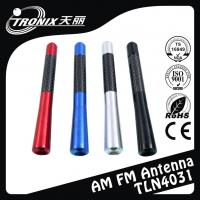 Wholesale Colored Replacement Car Antenna Mast , Aluminum car radio antenna mast from china suppliers