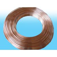 Wholesale Heaters Doulbe Side Copper Coated Bundy Tube 4.76mm X 0.55mm best price from china suppliers