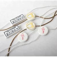 Wholesale Factory Custom LOGO Lock Hang Tag Plastic Seal String For Garment from china suppliers