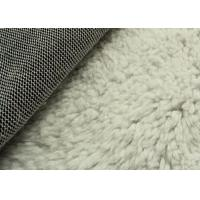 Wholesale White Color Berber Fleece Sherpa Fleece Fabric Super Soft Warm Cloth Lining Fabric from china suppliers