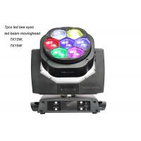Wholesale Mini Bee Eyes Moving Heads 7x15w Led Rgbw Wash Zoom Led Beam Moving Head from china suppliers