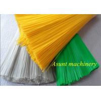 Quality High Efficency Recycled Monofilament Extrusion Machine PET Bottle Flakes Broom And Brush for sale