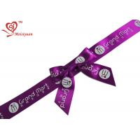 Wholesale Holiday Gift Decoration Gift Wrap Bows 1 inch Noble Purple Ribbon Bow from china suppliers