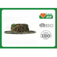 Wholesale Layo Tactical Camo Boonie Cap , UV - Proof Sun Protection Hats from china suppliers