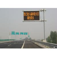 Wholesale Waterproof Red Yellow Green Blue Electronic Road Signs With CE / FCC Standard from china suppliers