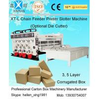 Wholesale Automatic Slotting Flexo Sticker Printer Machine With Printing Pressing Roller from china suppliers