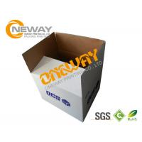 Wholesale Corrugated Paper Carton Printed Packaging Boxes UVI Hot - Stamping Glossy Surface from china suppliers