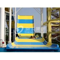 Wholesale Newest Design Custom Water Slides , Amusement Park Boomerang Aqua Slide For 2 People in Gaint Aqua Park from china suppliers