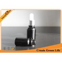 Wholesale 10ml Black Essential Oil Glass Bottles With Eye Dropper Cap Master Box Package from china suppliers
