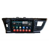 Wholesale Touch Screen Toyota 2014 Corolla GPS Navigation / DVD Player with iPod BT SWC TV from china suppliers