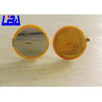 Wholesale Eco - Friendly CR2032 Battery With Solder Tabs Long Life 240mAh 3.0g from china suppliers