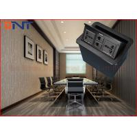 Wholesale Office Conference Desktop Power Sockets Aluminum Alloy Brushed With Network from china suppliers