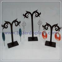 Quality Free Shipping Wholesale Earring Acrylic Jewelry Display Stand Holder 12set lot for sale