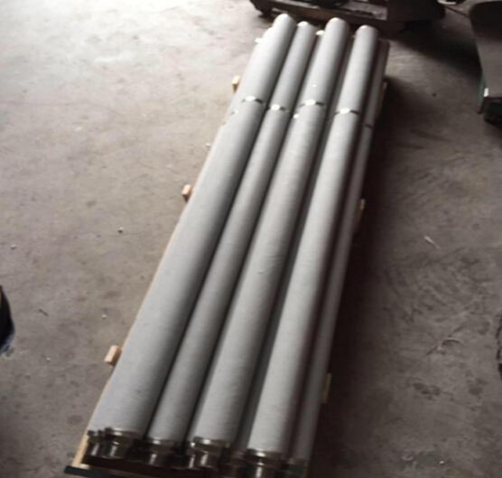 metal sintered porous refractory metals gas sensor component