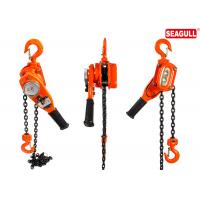 Wholesale Anti - Dust Manual Lift Tools Chain Lever Hoist 750kg Capacity Red / Customised from china suppliers