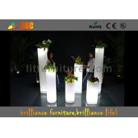 Wholesale LED ice bucket & LED Flower Pot / planter , Glowing bar furniture from china suppliers