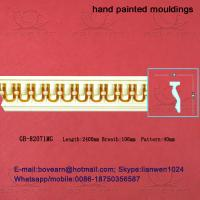 Wholesale Hand Painted PU Cornices Panel Moulding from china suppliers