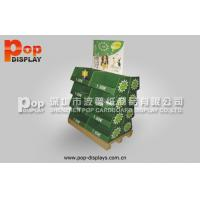 Wholesale Steady Eye Catching Paperboard Display Pallet Stands , Shipper Pallet For Dog Foods from china suppliers