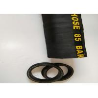 Wholesale Black Concrete Pump Rubber End Hose With Oil Resistant , Synthetic Rubber from china suppliers