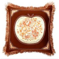 Wholesale Antique Europe Style Sofa Cushions And Pillows for Car / Bed in Brown from china suppliers