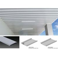 Wholesale Anti Corrosion Metal False Ceiling , Suspended Metal Ceiling Easy Install from china suppliers
