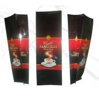 Wholesale Bottom Gusset Net Weight 270g Coffee Tea Bags , Glossy Self Standing Bag from china suppliers