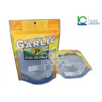 China Transparent Stand Up Retort Pouch Packaging With Strong Seal Material on sale