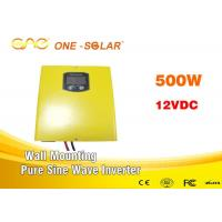 Wholesale Wall - Mounting Off Grid Pure Sine Wave Inverter 500w 12V For Home Supply from china suppliers